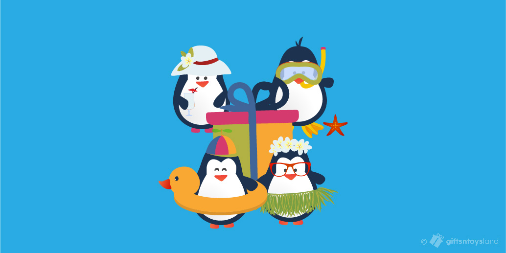 Penguin gifts for her